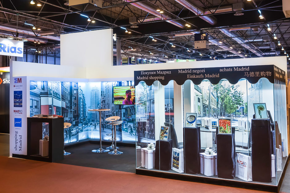DESIGN AND CONSTRUCTION of a BOOTH for Comunidad de Madrid - FITUR 2015 - IFEMA - MADRID - ESPAÑA - PROYECTO GENUS