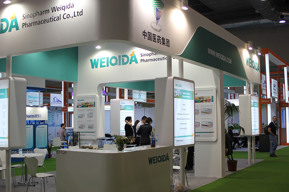 DESIGN AND CONSTRUCTION of a BOOTH for LONCHEM_IVC_MELLOW HOPE_GUOBANG_WEIQIDA CPHI MADRID ESPAÑA
