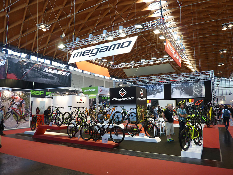 DESIGN AND CONSTRUCTION of a BOOTH for MEGAMO EUROBIKE FRIEDRICHSHAFEN ALEMANIA