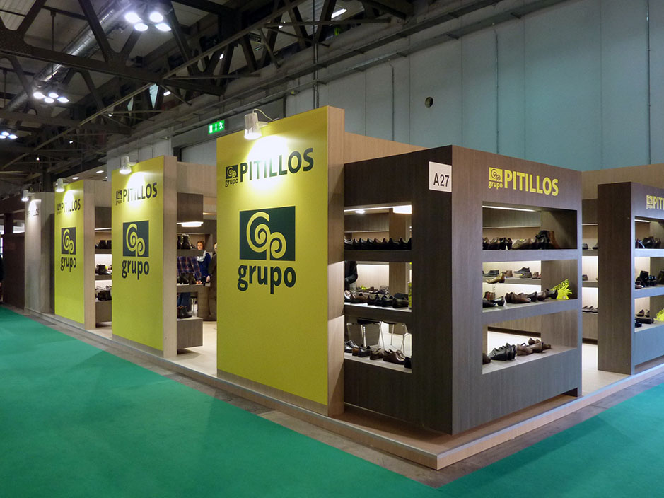 DESIGN AND CONSTRUCTION of a BOOTH for PITILLOS MICAM MILAN ITALIA