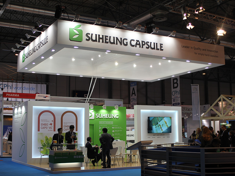 DESIGN AND CONSTRUCTION of a BOOTH for SUHEUNG CPHI MADRID ESPAÑA